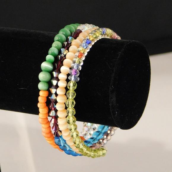Princess Gems Jewelry - Rainbow Coil Bracelet